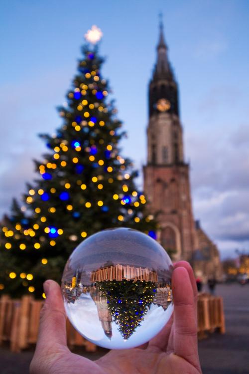 Kerst in Delft