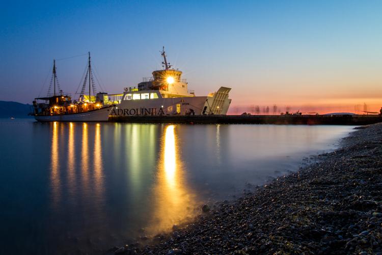 schepen in zaostrog